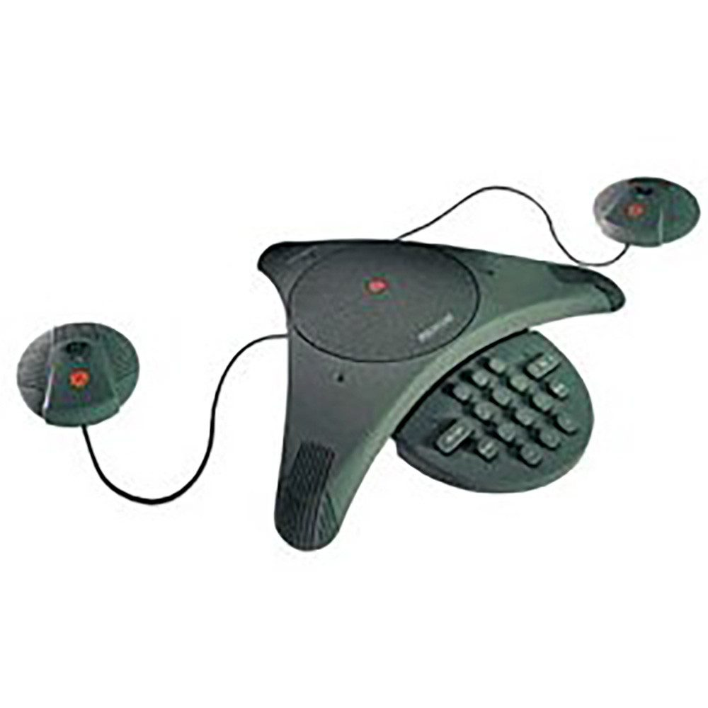 Polycom Soundstation EX with mics