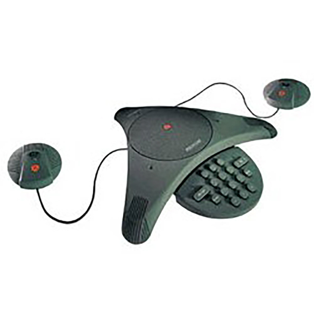Polycom Soundstation EX with mics