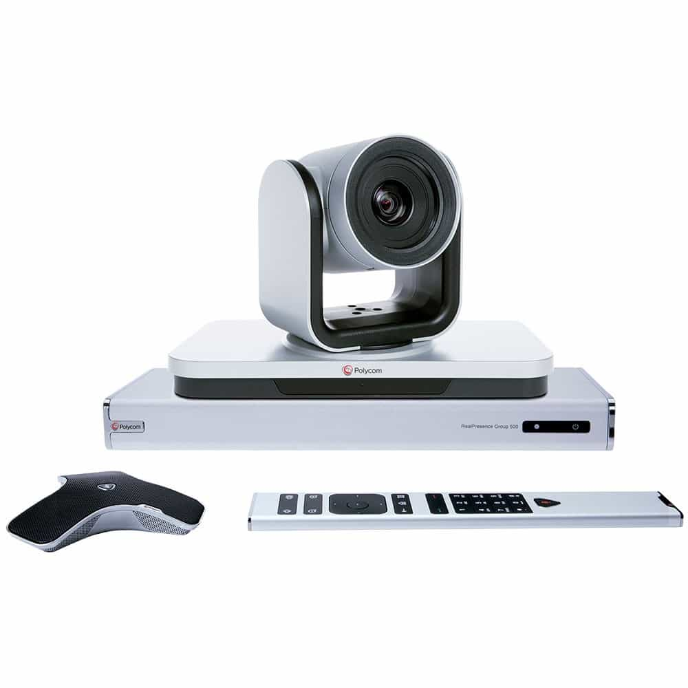 Polycom RealPresence Group 500 with Eagle Eye IV 12x Camera 7200-64250-001