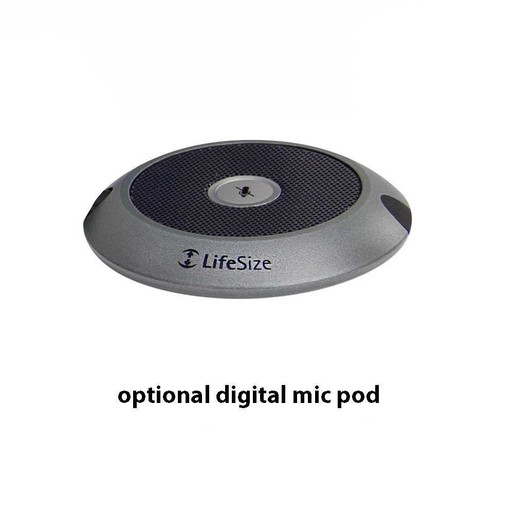 Optional digital mic pod