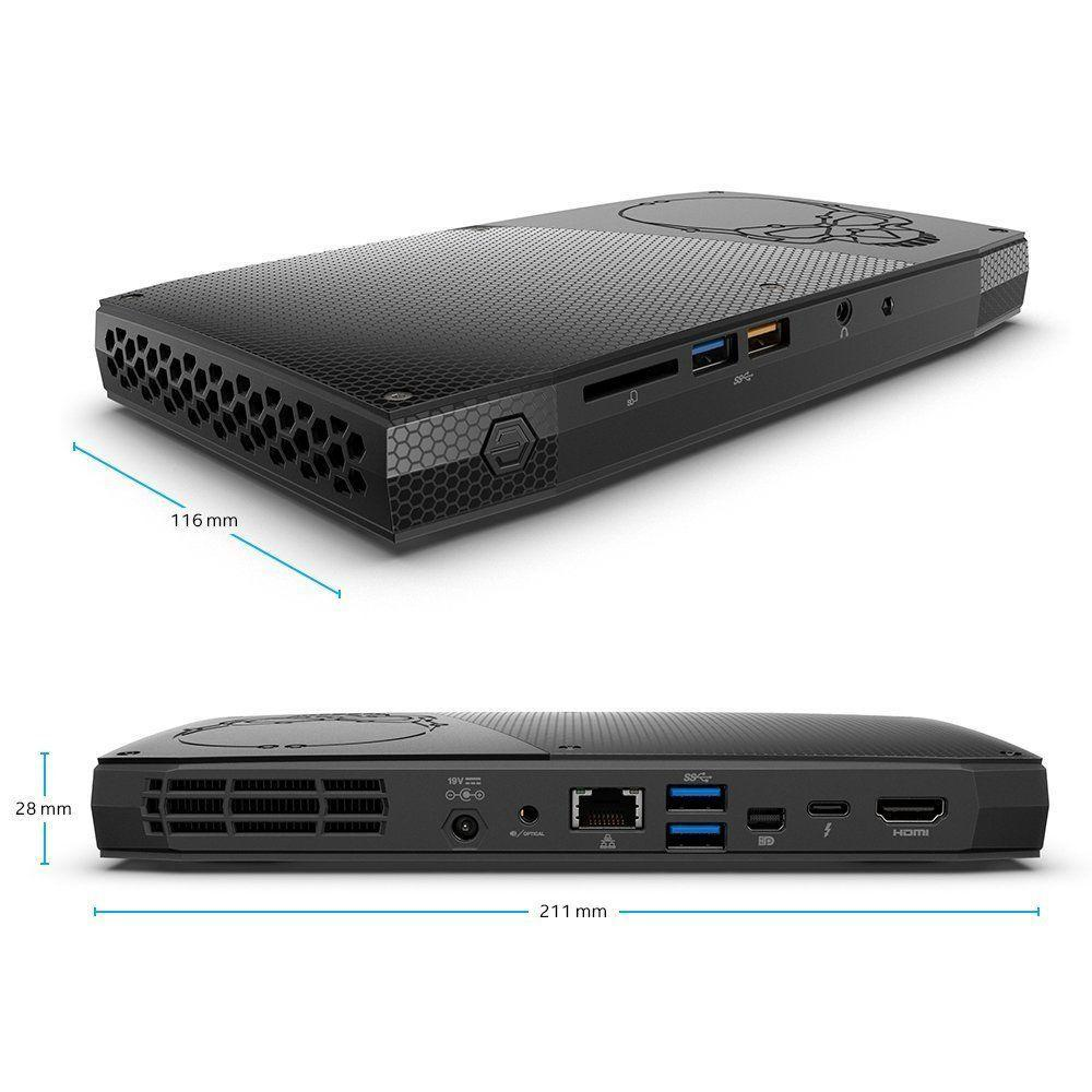 Intel Skull Canyon NUC i7 dimensions