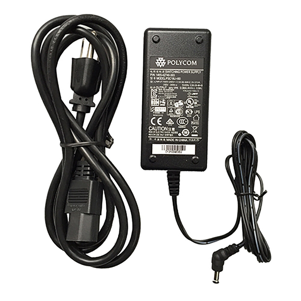 Power Supply - Polycom SoundStation IP 5000-6000-560-670, VVX 1500, and Touch Control