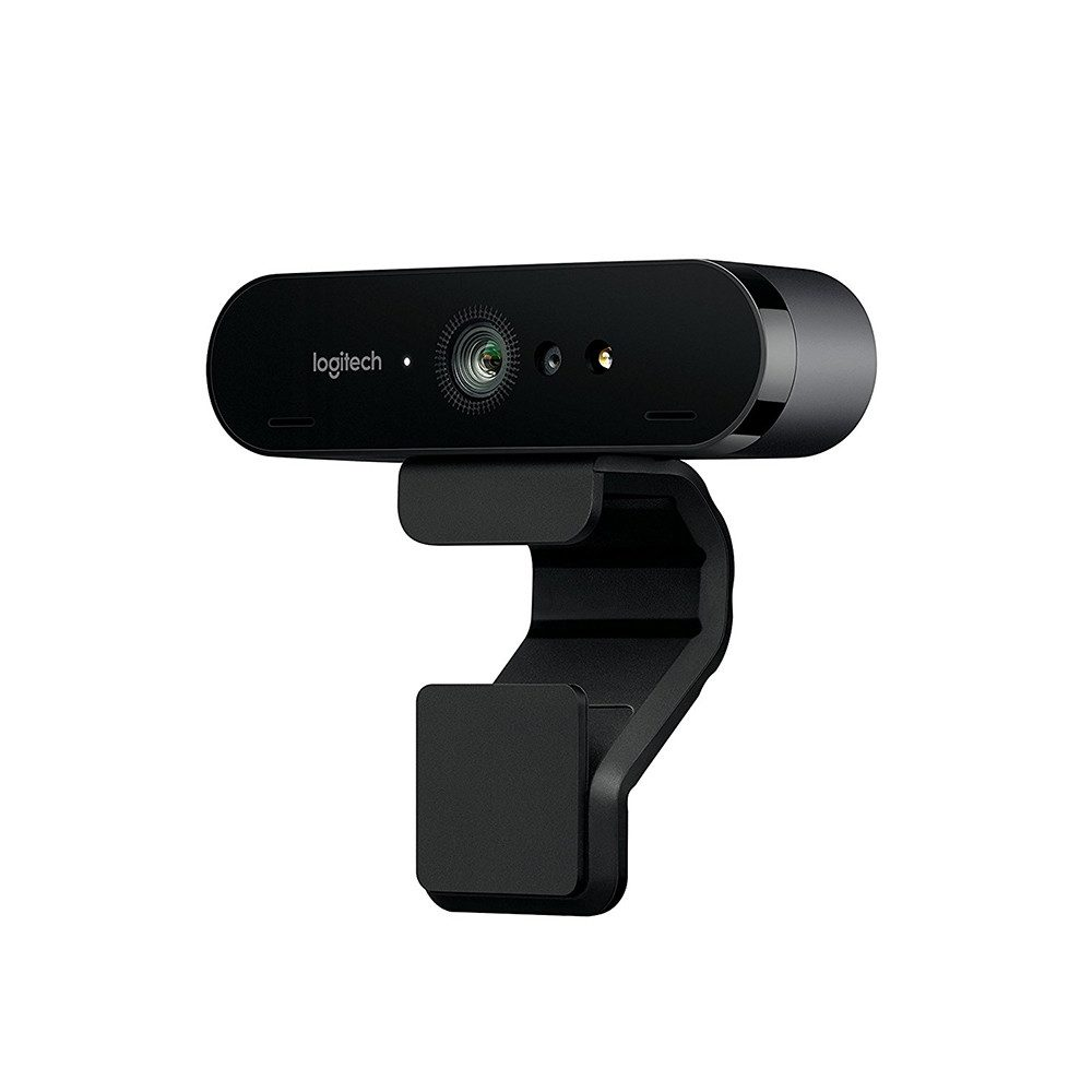 Logitech BRIO 4K Ultra HD webcam with RightLight 3 with HDR