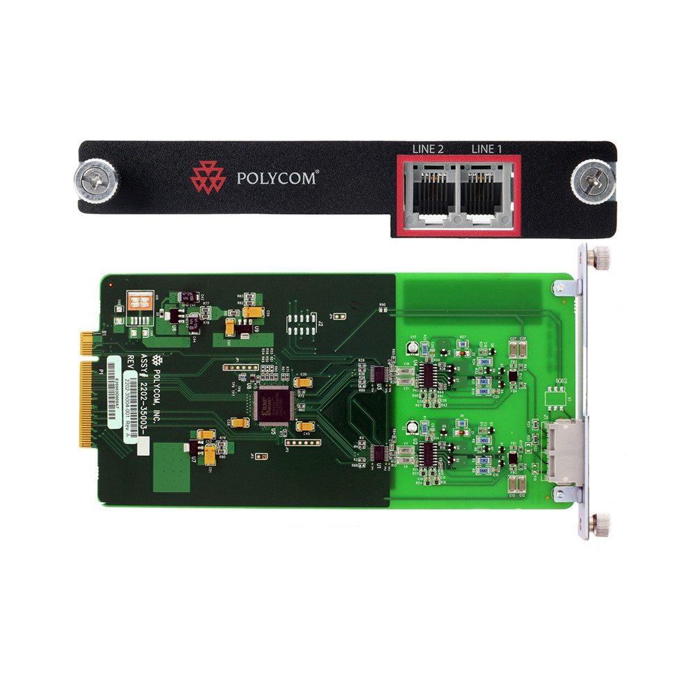 Polycom SoundStructure TEL2 Dual PSTN Interface Card