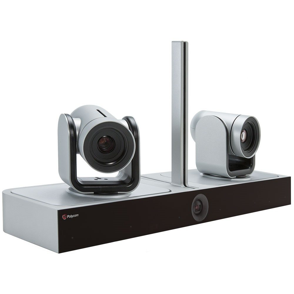 Polycom Eagle Eye Director II with Two Eagle Eye IV Cameras side view