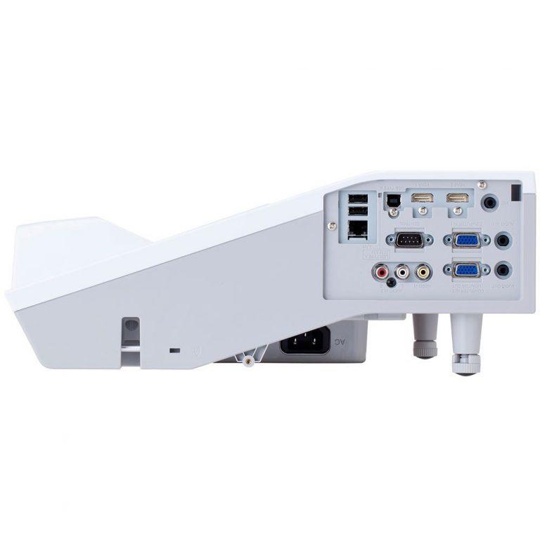Hitachi CP-AW3005 3300-Lumen WXGA Ultra-Short Throw 3LCD Projector side