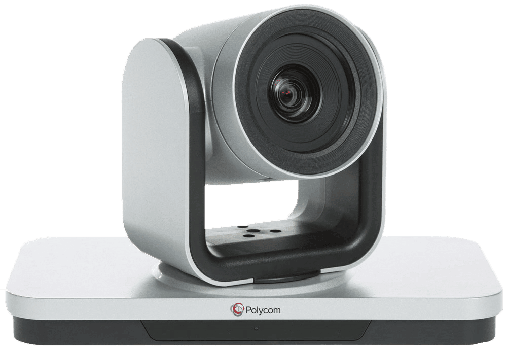 The Polycom Eagleeye IV camera is a high definition conferencing camera with 12x optical zoom