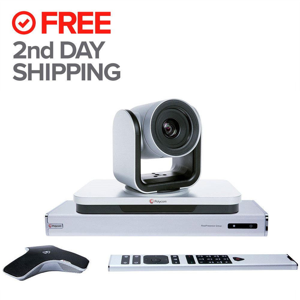 polycom 7200-64240-001 group 300 eagleeye iv-12x camera high definition video conference system