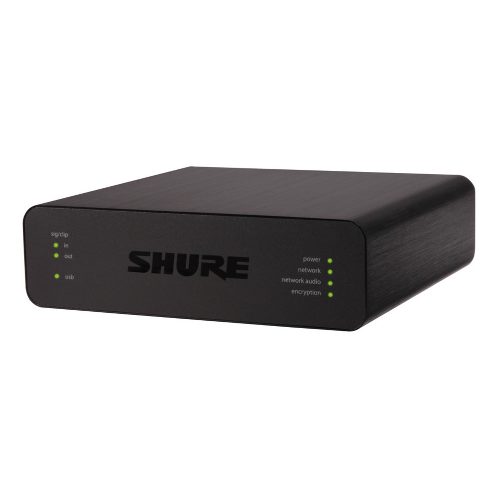 shure aniusb-matrix usb audio network interface