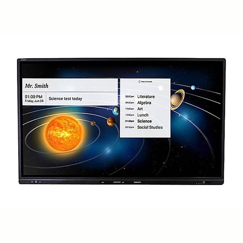 AVer CP3-75i Interactive Flat Panel 75 inch display