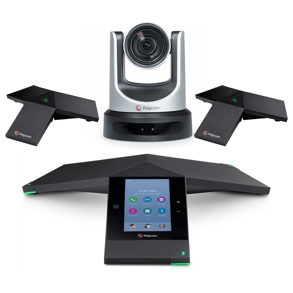 Polycom Trio 8800 With Two Expansion Mics + EagleEye IV USB Camera Kit