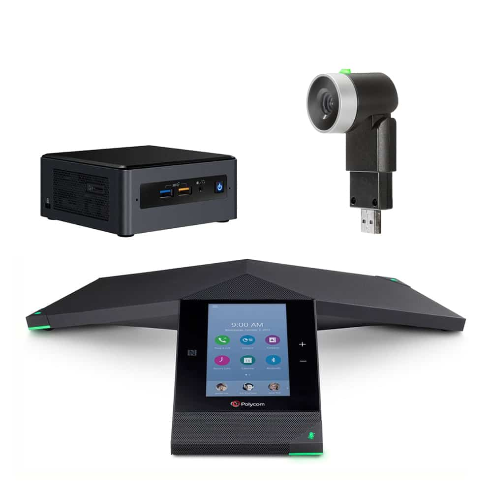 Zoom Rooms Kit - trio nuc eagleeye mini