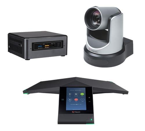 Zoom Rooms Kit - Polycom Trio + EagleEye IV USB 500x450