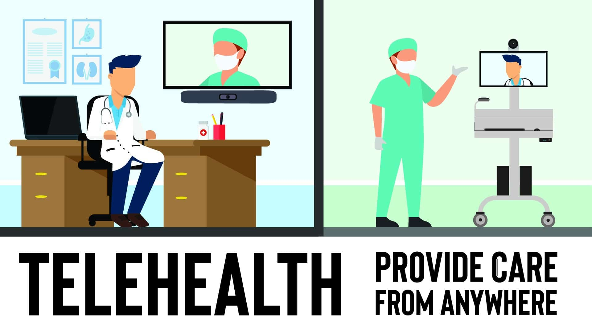 New Custom TeleHealth Medical Carts Make Remote Care A Smooth Experience